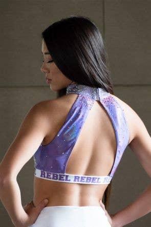 Vera Sports Bra in Smitten Purple