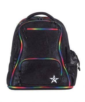 black faux suede rebel dream bag