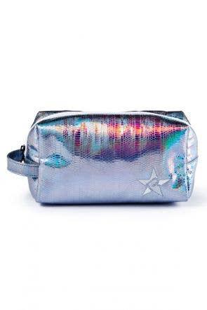 light blue makeup bag called Blue Dragon Makeup Bag by Rebel Athletic