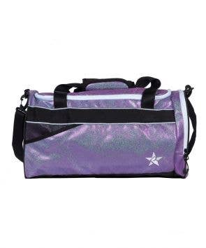 purple duffle bag luggage