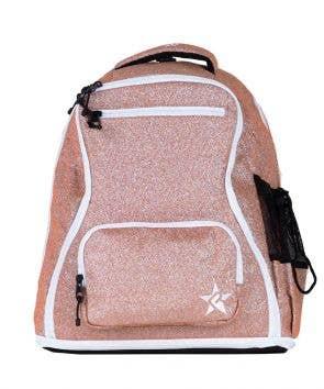 rose gold dream bag white zipper
