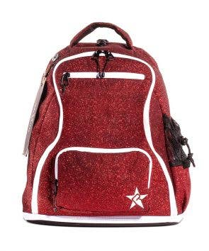 red cheer bag