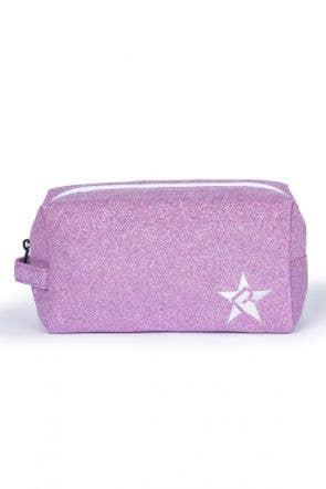 lavender makeup bag