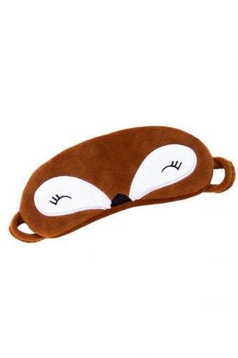 Festive Fox Eye Mask