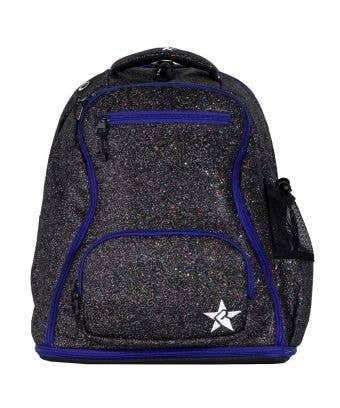 Jet Rebel Dream Bag with Purple Zipper