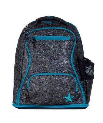 Jet Rebel Dream Bag with Teal Zipper