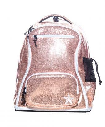 rose gold school bag