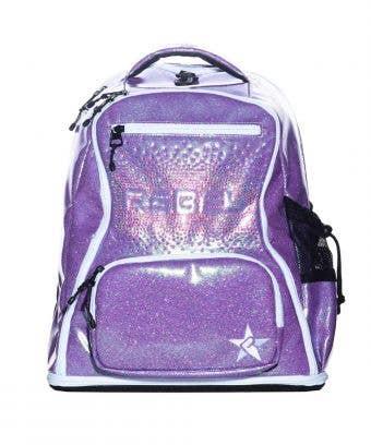 Glossy Purple Reign Rebel Dream Bag