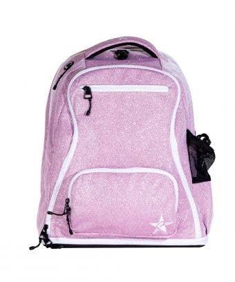 pink sparkle backpack