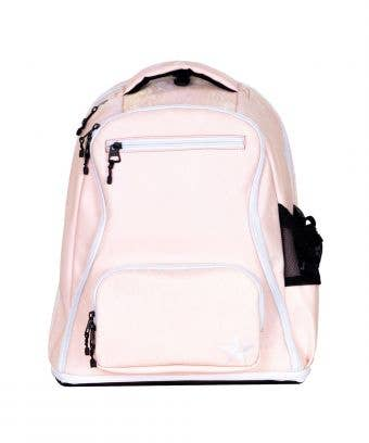 Shimmer Rebel Dream Bag in Silk with White Zipper