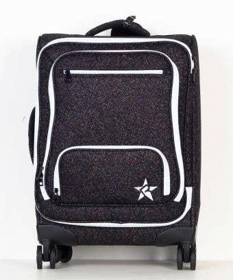 black luggage