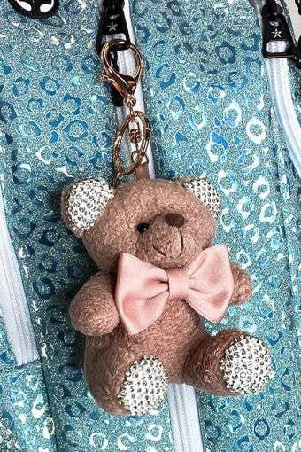 brown bear keychain