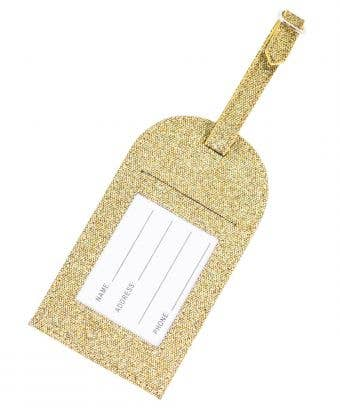 Sunrise Rebel Level Luggage Tag - Gorgeous Gold Luggage Tag