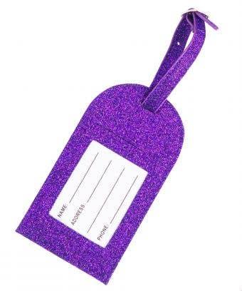 Amethyst Rebel Level Luggage Tag - Gorgeous Purple Luggage Tag