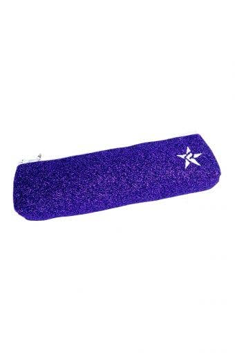 purple pencil pouch