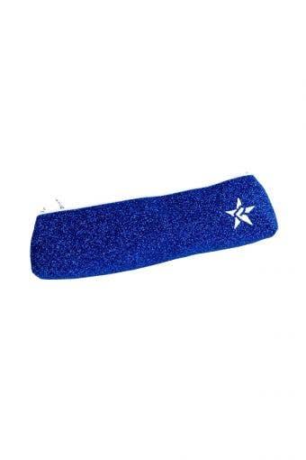 blue pencil pouch