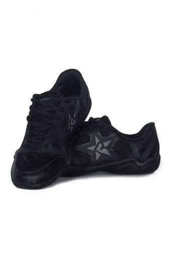 Rebel Ruthless Blackout Cheer Shoes product presentation