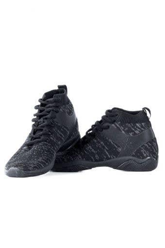Rebel Revolution Black Cheer Shoes