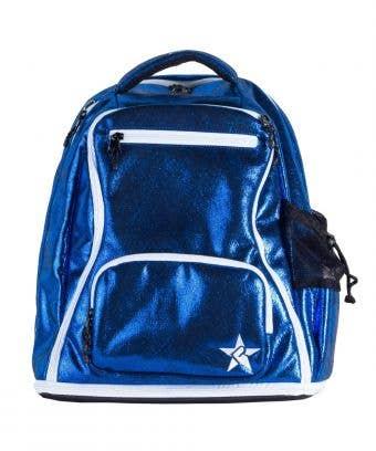blue school bag main features
