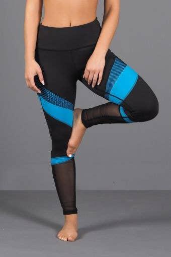 Zena Legging in Electric Blue - FINAL SALE