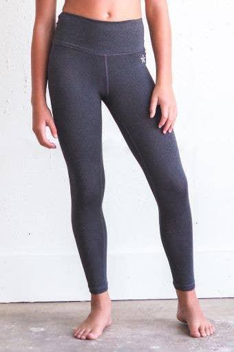 Legendary Legging in Gray HeatherFlex - Girls