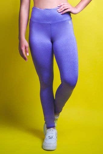 Legendary Legging in Ultraviolet in HeatherFlex