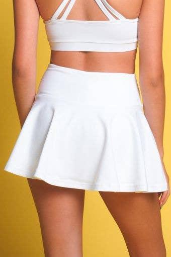 Legendary Flouncy Skirt in White - Girls