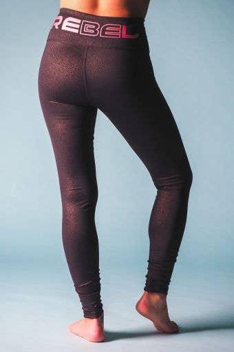 Rose Gold FusionFlex Legging - Girls