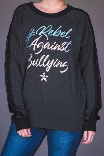 Rebel Against Bullying Barcelona Pullover - Girls