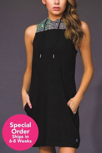 City Chic Dress with Opalescent Crystals - Special Order - Girls