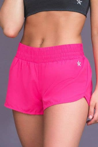 Sport Short in Power Pink