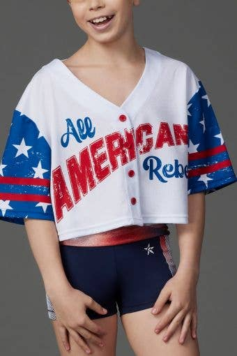 All American Cropped Jersey