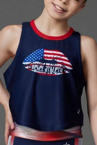 American Girl Tank - Girls