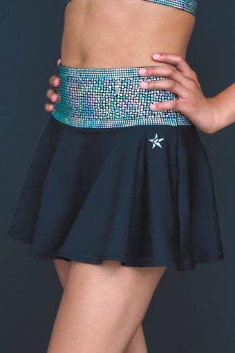 Legendary Flouncy Skirt in Spangled Waistband