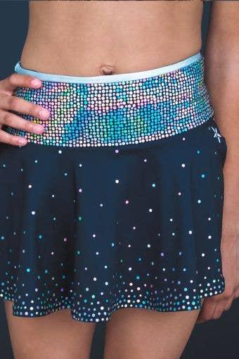 Legendary Flouncy Skirt in Spangles