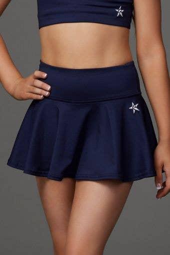 Legendary Flouncy Skirt in Navy - Girls