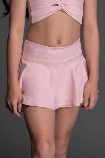 Legendary Flouncy Skirt in Rose - Girls