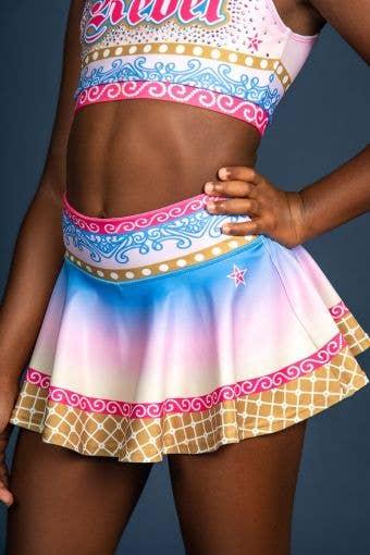 Legendary Flouncy Skirt in Mythical - Girls - FINAL SALE