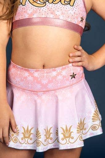 Legendary Flouncy Skirt in Greek Goddess - Girls - FINAL SALE