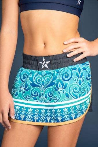 Sport Skirt in Santorini Sea - Girls