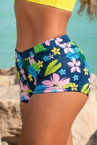 Floral Sport Bikini Bottom