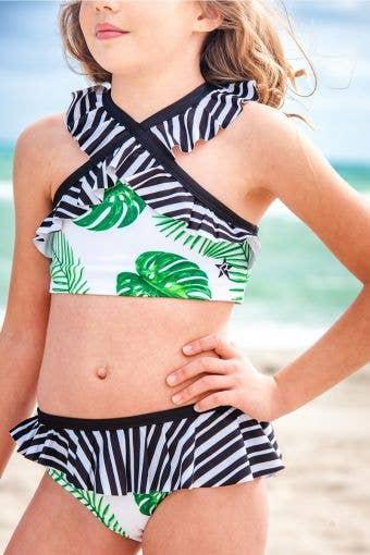 Vacay All Day Bikini Top - Girls