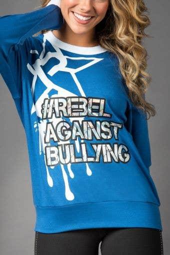 Rebel Against Bullying Greece Pullover