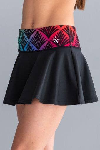 Legendary Flouncy Skirt in Gatsby Glam - Girls