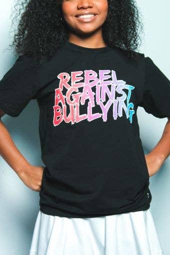 Rebel Against Bullying Gradient Tee
