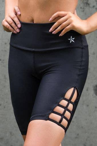 Legendary Bike Shorts with Cutouts