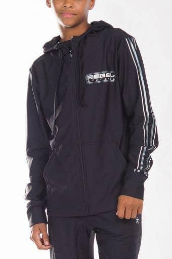 Warm Up Jacket in Black