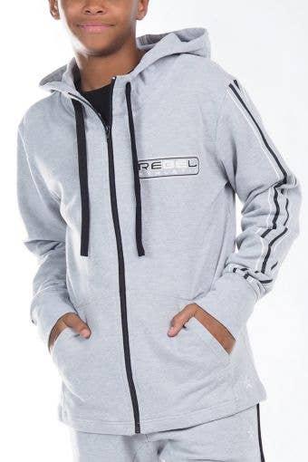 Warm Up Jacket in Grey