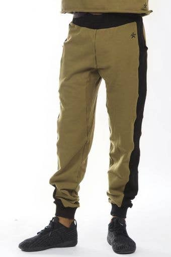 Slim Fit Jogger in Forest Green