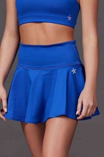 Legendary Flouncy Skirt in Royal Blue